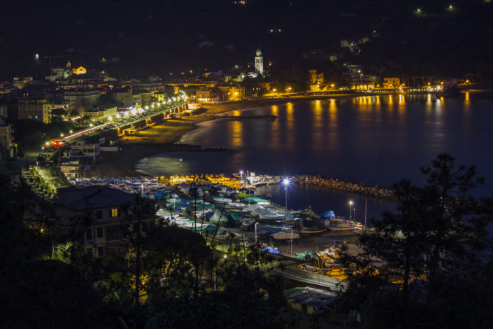 Levanto by night